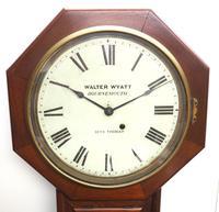 Impressive Victorian American Drop Dial Wall Clock 8 Day Movement Seth Thomas (6 of 12)