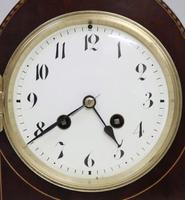 French Belle Epoque Mahogany Mantel Clock (3 of 8)