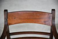 4 Antique Georgian Mahogany Dining Chairs (3 of 12)