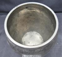 Liberty & Co Tudric Pewter Biscuit Jar, Number 01065, Lion Handles c.1910 (5 of 8)