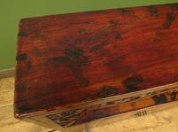 Antique Chinese Qing Shrine Shelf Cabinet with Doors (7 of 18)