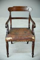 William IV Mahogany Carver Chair (7 of 9)