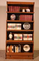Globe Wernicke Bookcase Called Stacking Bookcase in Oak - 5 Items (3 of 9)