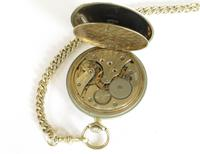 1930s Recta Pocket Watch & Chain (4 of 5)