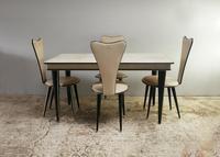 1950's mid century Italian dining set Umberto Mascagni