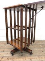 Early 20th Century Oak Revolving Bookcase (7 of 8)