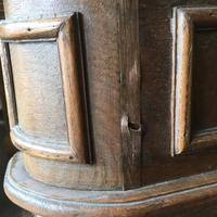 Pair of Unusual Vintage French Oak Bedside Shelf Units (5 of 9)