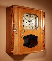 A Westminster Girod Carillon Oak, Rosewood Wall Clock French Circa 1955 (7 of 11)
