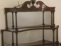 Rare Matching Pair of Victorian Wall Shelves (5 of 9)