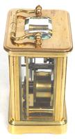 Superb Miniature French 8 Day Carriage Clock Lever Platform c.1880 Working (5 of 10)