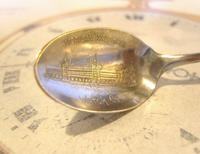 Antique American Waltham Watch Co Teaspoon 1890s Victorian Coin Silver Plated (4 of 10)