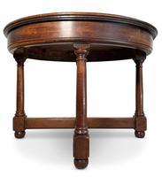 Circular Mahogany Centre Table (5 of 7)