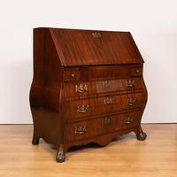 Mahogany Desk / Bureau / Bombe (2 of 5)