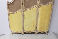 French Painted Three Fold Screen (4 of 14)