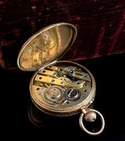 Antique 14k Gold Pocket Watch, Fob Watch (4 of 14)