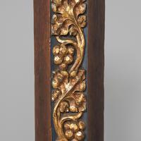 Pair of Gothic Revival Oak Standard Lamps (5 of 12)
