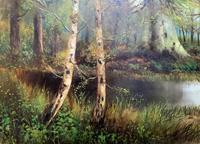 'John Williamson' Superb Woodland Landscape Oil Painting (7 of 11)