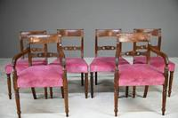 Set of 6 Regency Mahogany Dining Chairs (9 of 13)