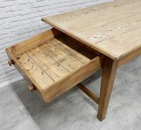 Large Farmhouse Pine Kitchen Table (5 of 9)