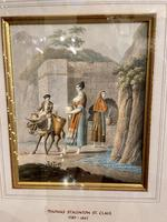 Thomas Staunton St. Clair Fine Pair of Walnut Framed Watercolours (3 of 4)