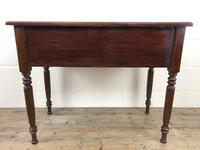 Antique Victorian Mahogany Side Table (6 of 13)