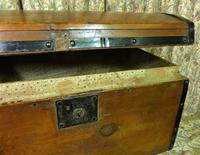 Petite Pine Travelling Trunk with Domed Top (3 of 5)