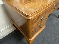 Antique Queen Anne Burr Walnut Dressing Table (16 of 16)
