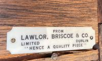Superb Pair of Georgian Mahogany Bedside Chests of Drawers by Lawlor Briscoe Dublin (6 of 6)