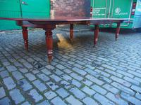 Large George IV Mahogany Dining Table by M. Willson, London (5 of 20)