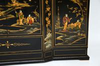 Art Deco Lacquered Chinoiserie Drinks Cabinet / Sideboard (16 of 16)