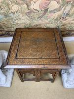 19th Century Brass Inlaid Hoshiarpur Table (3 of 7)