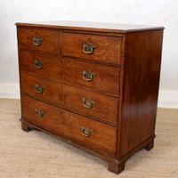 Georgian Oak Chest of Drawers 18th Century (6 of 12)
