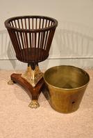19th Century Dutch Mahogany Ice Bucket on Stand (3 of 7)
