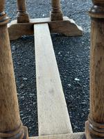 French Bleached Oak Farmhouse Refectory Dining Table (17 of 18)