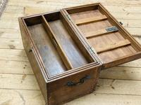 19th Century Oak Tool Chest (9 of 16)