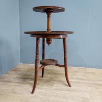 Aesthetic Movement Dumbwaiter Table (4 of 8)