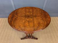 Large Victorian Burr Walnut Sutherland Table (14 of 16)