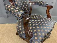 Pair of 19th Century French Rosewood Armchairs (13 of 16)