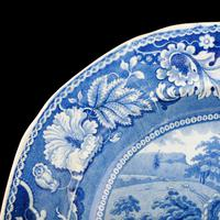 Early 19th Century Comb Back Meat Plate (4 of 8)