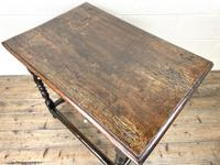 18th Century Antique Oak Side Table (7 of 11)