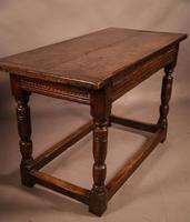 17th Century Oak Side Table (10 of 11)