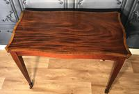 Edwardian Inlaid Mahogany Occasional Table (5 of 13)