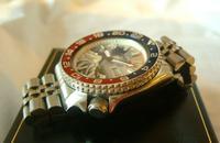 Vintage Wrist Watch 1987 Seiko Diver Mod Great Wave Of Kanagawa Pepsi Bezel Fwo (8 of 12)