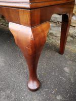 Chippendale Style Glazed Mahogany Bookcase (10 of 10)