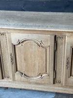 Large French Bleached Oak Enfilade or Sideboard (18 of 19)