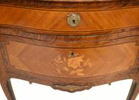 French Empire Commode Marquetry Inlay Antique Chest Drawers (4 of 10)