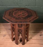 Decorative Burmese chai or tea table (8 of 8)