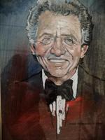 Pastel & Watercolour Portrait of the singer Tony Bennett (3 of 3)