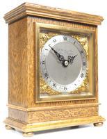 Perfect Vintage Mantel Clock Bracket Clock by Elliott of London Retailed by G H Pressley & Sons (8 of 8)