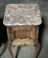 Pair of French Marble Top Bedside Cupboards (5 of 26)